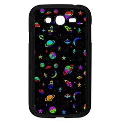 Space Pattern Samsung Galaxy Grand Duos I9082 Case (black) by Valentinaart