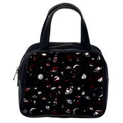 Space Pattern Classic Handbags (one Side) by Valentinaart