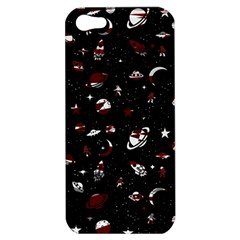 Space Pattern Apple Iphone 5 Hardshell Case by Valentinaart