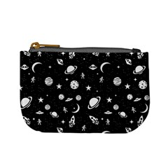 Space Pattern Mini Coin Purses by Valentinaart