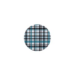 Plaid Pattern 1  Mini Buttons by Valentinaart