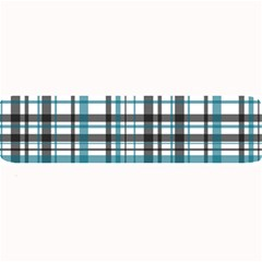 Plaid Pattern Large Bar Mats by Valentinaart