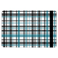 Plaid Pattern Ipad Air Flip by Valentinaart