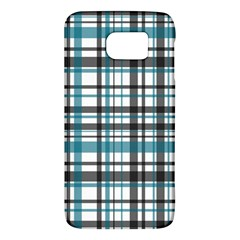 Plaid Pattern Galaxy S6 by Valentinaart