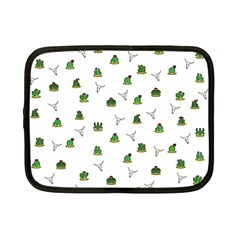 Cactus Pattern Netbook Case (small)  by Valentinaart