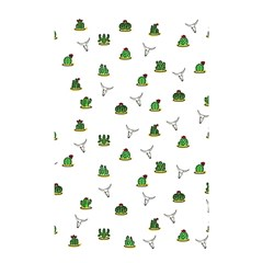 Cactus Pattern Shower Curtain 48  X 72  (small)  by Valentinaart
