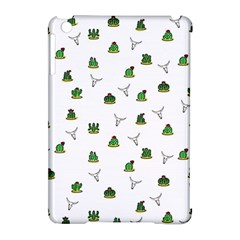 Cactus Pattern Apple Ipad Mini Hardshell Case (compatible With Smart Cover) by Valentinaart