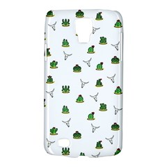 Cactus Pattern Galaxy S4 Active by Valentinaart