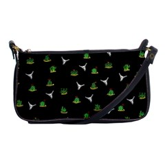 Cactus Pattern Shoulder Clutch Bags by Valentinaart