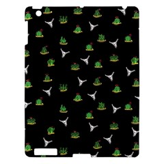 Cactus Pattern Apple Ipad 3/4 Hardshell Case by Valentinaart