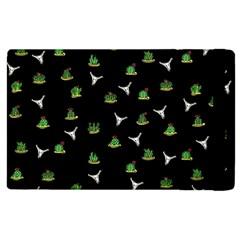 Cactus Pattern Apple Ipad 3/4 Flip Case by Valentinaart