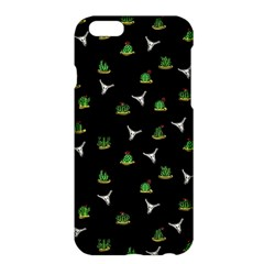 Cactus Pattern Apple Iphone 6 Plus/6s Plus Hardshell Case by Valentinaart