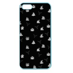 Cactus Pattern Apple Seamless Iphone 5 Case (color) by Valentinaart