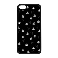 Cactus Pattern Apple Iphone 5c Seamless Case (black) by Valentinaart