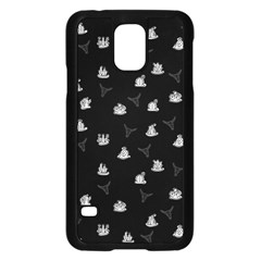 Cactus Pattern Samsung Galaxy S5 Case (black) by Valentinaart