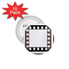Frame Decorative Movie Cinema 1 75  Buttons (10 Pack)