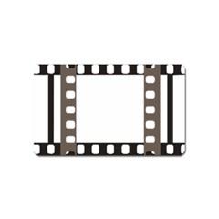 Frame Decorative Movie Cinema Magnet (name Card) by Nexatart