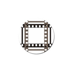 Frame Decorative Movie Cinema Golf Ball Marker (10 Pack)