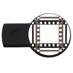 Frame Decorative Movie Cinema Usb Flash Drive Round (4 Gb)