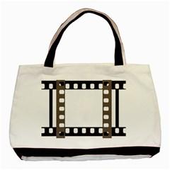 Frame Decorative Movie Cinema Basic Tote Bag by Nexatart
