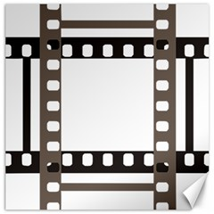 Frame Decorative Movie Cinema Canvas 12  X 12   by Nexatart