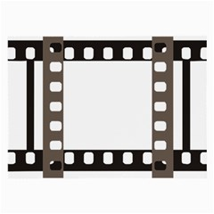 Frame Decorative Movie Cinema Large Glasses Cloth (2 Side) by Nexatart