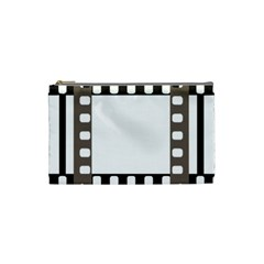 Frame Decorative Movie Cinema Cosmetic Bag (small)  by Nexatart