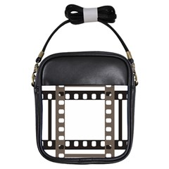 Frame Decorative Movie Cinema Girls Sling Bags by Nexatart