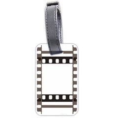 Frame Decorative Movie Cinema Luggage Tags (two Sides) by Nexatart
