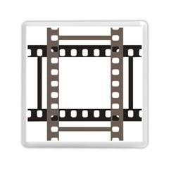 Frame Decorative Movie Cinema Memory Card Reader (square)  by Nexatart
