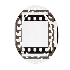 Frame Decorative Movie Cinema Oval Filigree Ornament (two Sides) by Nexatart
