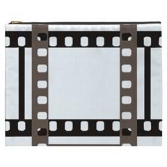 Frame Decorative Movie Cinema Cosmetic Bag (xxxl)  by Nexatart