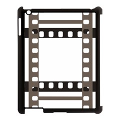 Frame Decorative Movie Cinema Apple Ipad 3/4 Case (black) by Nexatart