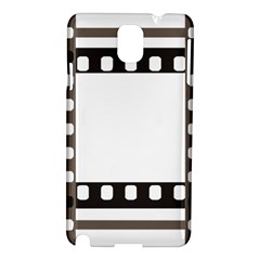 Frame Decorative Movie Cinema Samsung Galaxy Note 3 N9005 Hardshell Case