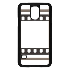 Frame Decorative Movie Cinema Samsung Galaxy S5 Case (black)