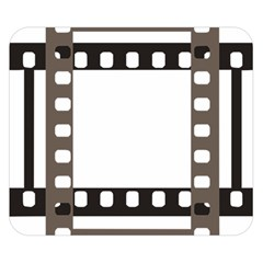 Frame Decorative Movie Cinema Double Sided Flano Blanket (small)