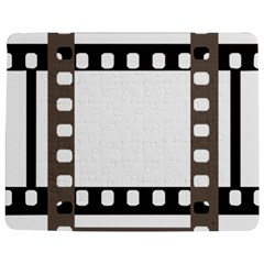 Frame Decorative Movie Cinema Jigsaw Puzzle Photo Stand (rectangular)