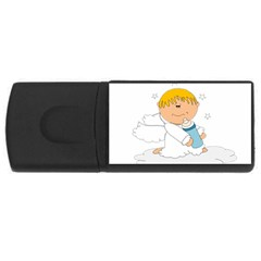 Angel Baby Bottle Cute Sweet Usb Flash Drive Rectangular (4 Gb)