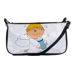 Angel Baby Bottle Cute Sweet Shoulder Clutch Bags by Nexatart