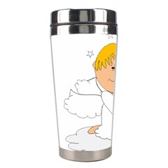 Angel Baby Bottle Cute Sweet Stainless Steel Travel Tumblers by Nexatart
