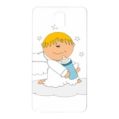 Angel Baby Bottle Cute Sweet Samsung Galaxy Note 3 N9005 Hardshell Back Case