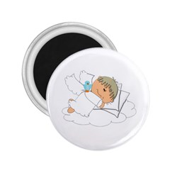 Sweet Dreams Angel Baby Cartoon 2 25  Magnets by Nexatart