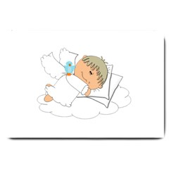 Sweet Dreams Angel Baby Cartoon Large Doormat