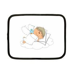 Sweet Dreams Angel Baby Cartoon Netbook Case (small)  by Nexatart