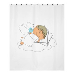 Sweet Dreams Angel Baby Cartoon Shower Curtain 60  X 72  (medium)  by Nexatart