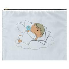 Sweet Dreams Angel Baby Cartoon Cosmetic Bag (xxxl)  by Nexatart