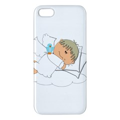 Sweet Dreams Angel Baby Cartoon Apple Iphone 5 Premium Hardshell Case by Nexatart