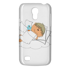 Sweet Dreams Angel Baby Cartoon Galaxy S4 Mini by Nexatart
