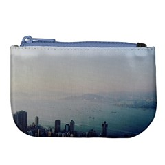 Hong Kong View Large Coin Purse by ansteybeta