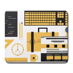 Web Design Mockup Web Developer Large Mousepads